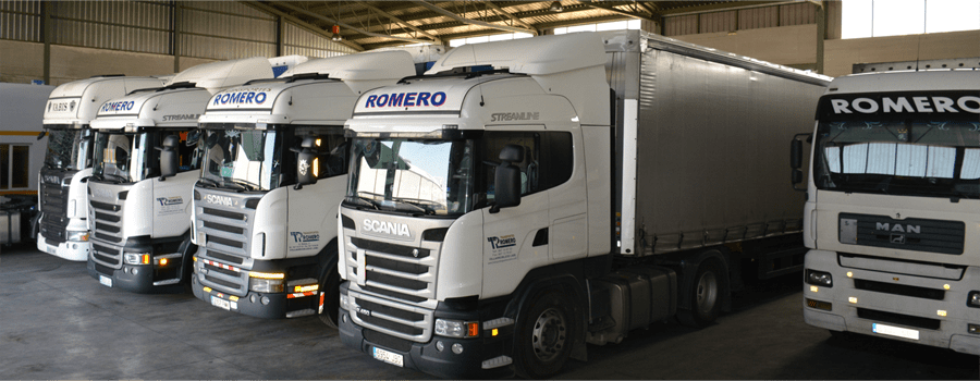 camiones transportes servicios